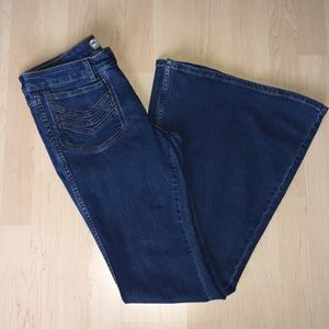 Free People FP Flare Bell Bottom Jeans Size W 30